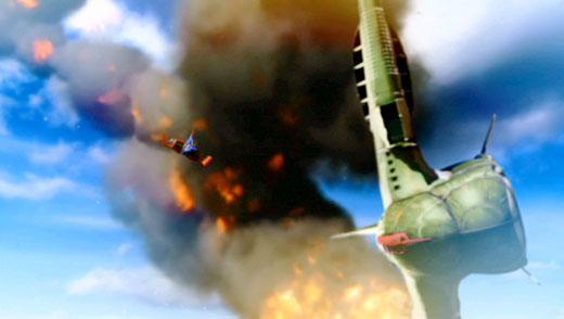 MS IGLOO2 重力戦線 第3話「オデッサ、鉄の嵐!」ガウ攻撃型空母