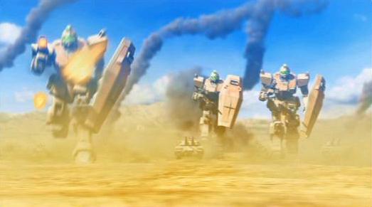 MS IGLOO2 重力戦線 第3話「オデッサ、鉄の嵐!」陸ジム&61式戦車