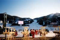 韓国スキー場