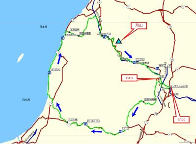 笹川流れマップ