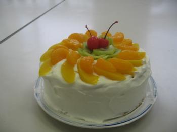 ケーキの来襲・・・