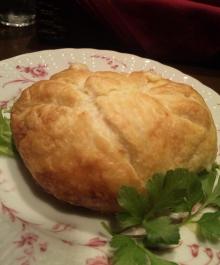 フォアグラのパイ包み焼き