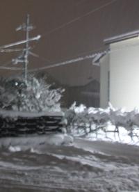 2月2日の大雪