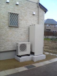 完成:温水器設置