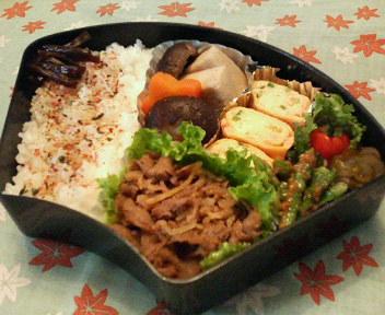牛肉の生姜焼き