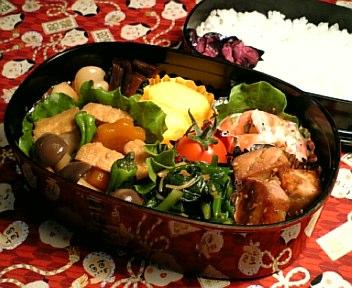 厚揚げと野菜の炒り煮