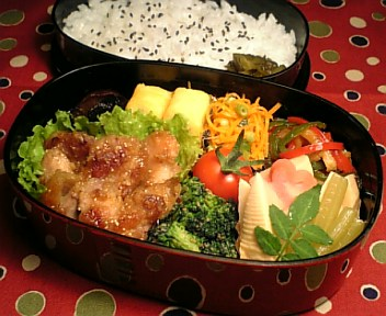 鶏肉の生姜味噌炒め