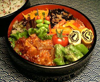 かじき鮪の甜麺醤焼き