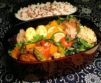 帆立と彩り野菜の豆鼓醤炒め