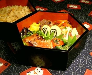 松茸ご飯&キンキの味醂粕漬