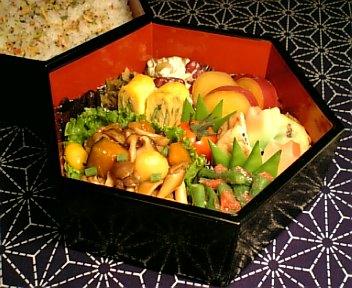 肉団子の秋色野菜あんかけ