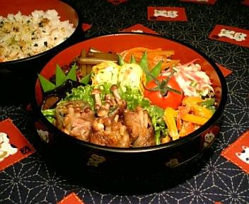 牛肉の葱味噌風味えのき巻き
