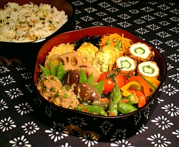 肉団子と加賀蓮根の甘辛煮