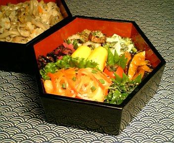 野菜たっぷり 真鱈の南蛮漬