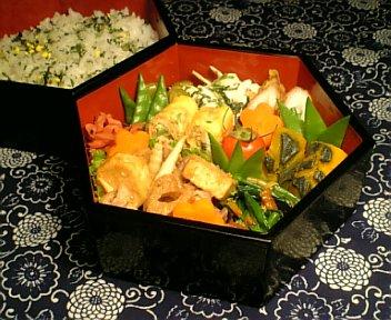 根菜たっぷり 豚肉の味噌炒め
