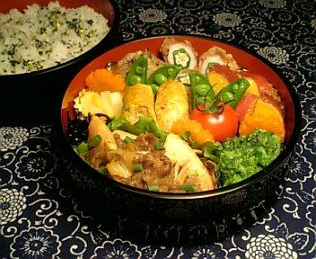 牛肉と野菜のカレー風味炒め