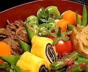 蚕豆のサラダ…
