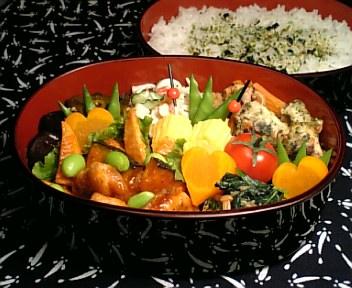 豚肉と穂先筍の彩り甘酢炒め