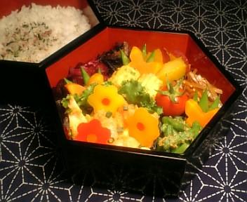 海老と穂先筍のカレーマヨ炒め