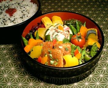 かじき鮪の葱牛蒡味噌焼き