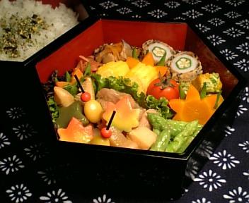 鶏肉と石川芋の秋色治部煮
