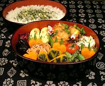 真鱈の野菜&カレー衣揚げ