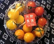 3色のプチトマト♪