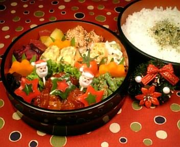 肉団子の彩りケチャップ煮