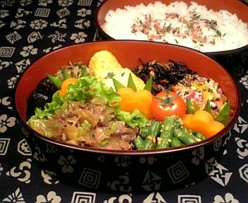 牛肉と大根の甘辛風味炒め