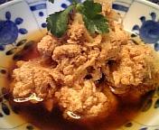 鱈の子生姜煮