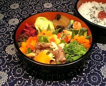 牛肉と穂先筍の中華マヨ炒め