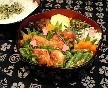 かじき鮪の梅生姜味噌焼き