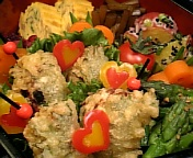 味噌+香味野菜で…