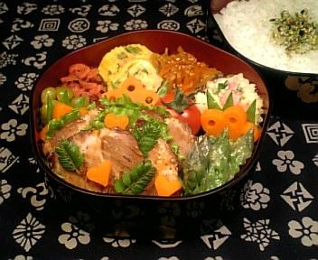 山椒風味の柔らか煮豚3