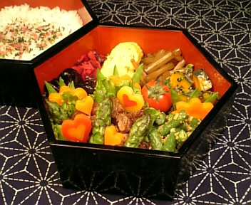 牛肉とアスパラの柚子胡椒炒め