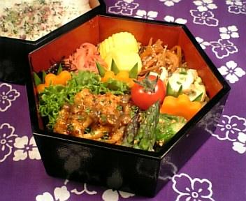 鶏肉と野菜の洋風照り焼き