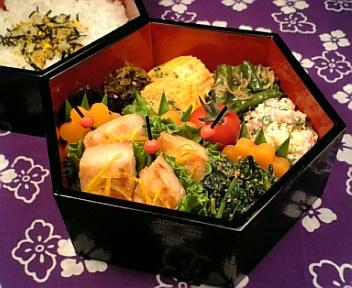 かじき鮪の柚子茶味噌焼き2