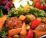 カラフル野菜と一緒に♪