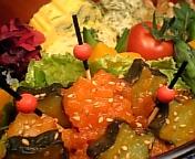 海老と胡瓜で夏の主菜!