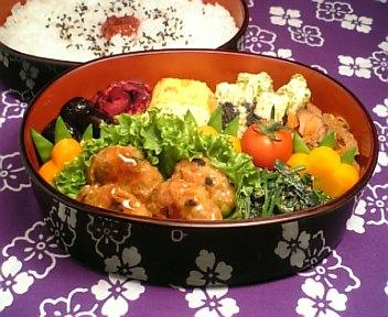 野菜入り鶏つくねの中華風味