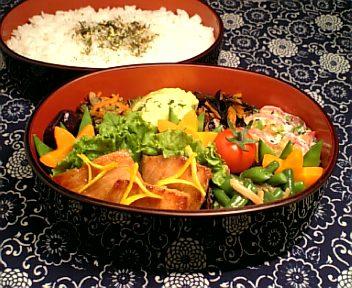 かじき鮪の柚子茶味噌焼き3