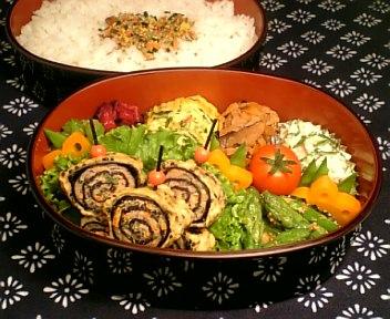 挽肉と野菜の磯辺巻き揚げ2