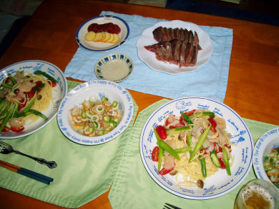 8-6夕飯