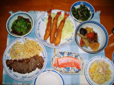 2007-1-4夕飯