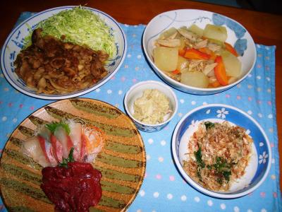 2007-1-10夕飯1
