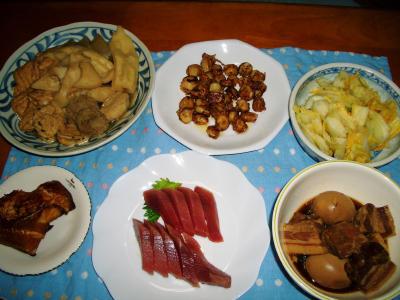 2007-1-14夕飯1