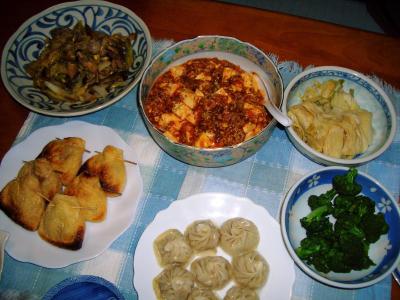 2007-1-22夕飯