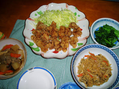 2007-2-7夕飯1