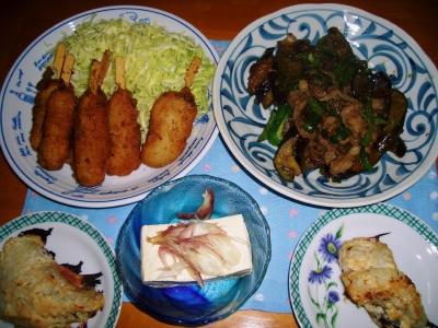 2007-2-19夕飯
