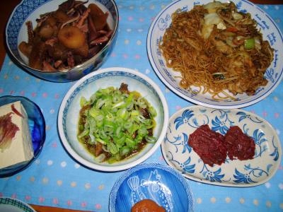 2007-2-22夕飯